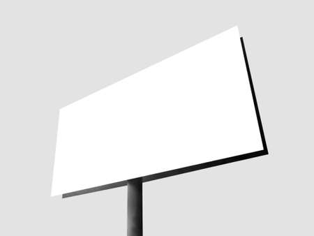 Blank billboard for your advertisement Stock Photo - 13603932