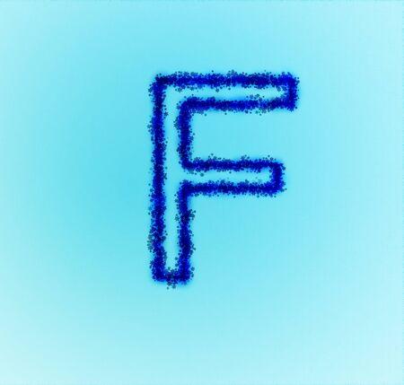 Gold star alphabet(letter E) photo