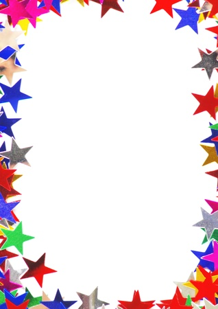 spangle: Colored stars background for your text on photo, and other.