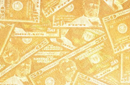 Close up of abstract US dollar Stock Photo - 15198309