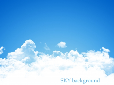 blue sky background Stock Photo - 15317124