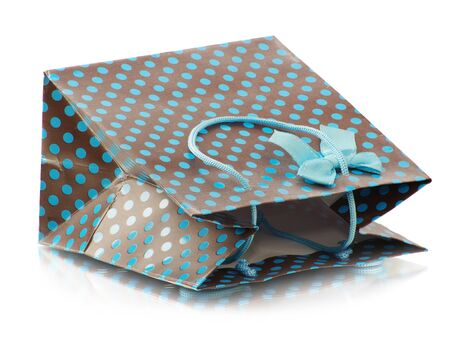 Beatiful shopping bag isolaten on white background Stock Photo - 15417393