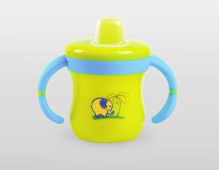 teat: baby cup Stock Photo