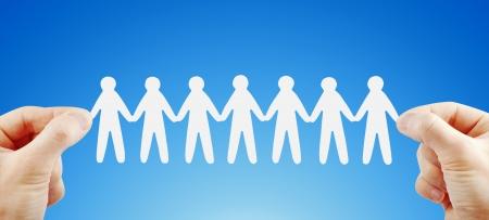 haushaltshilfe: People Team in die H�nde