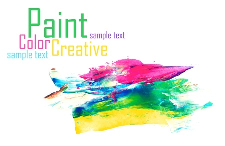 Color Paint Stock Photo - 17484095