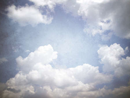retro image of cloudy sky Stock Photo - 17943767