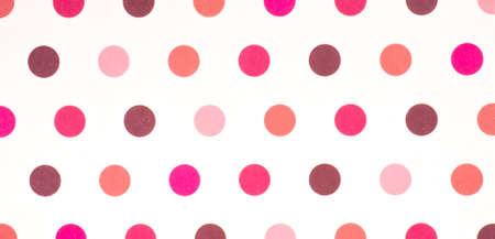 pattern pois: Seamless retr? ispirato giovanile motivo a pois in colori caramella