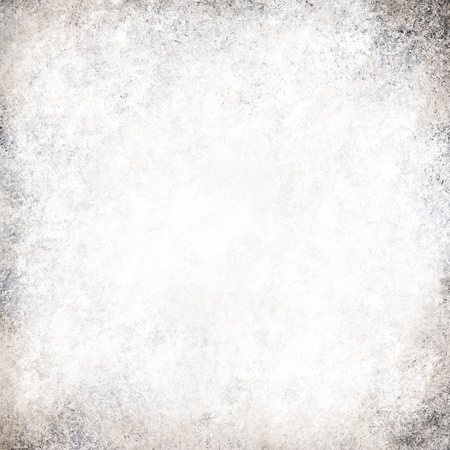 abstract white background gray color vintage grunge background texture, frosty silver background, luxury Christmas light design background, monochrome black and white color printing, old white paper Standard-Bild