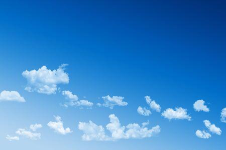 Blue sky. photo