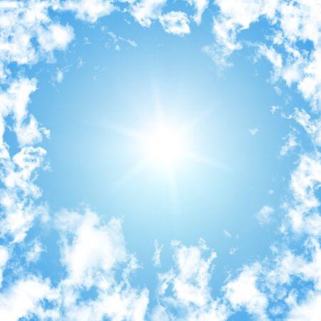 Nice white cloud on the sky Stock Photo - 19117826