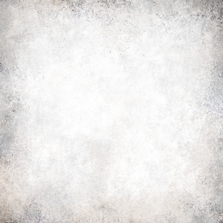 distressed texture: abstract white background gray color vintage grunge background texture, frosty silver background, luxury Christmas light design background, monochrome black and white color printing, old white paper Stock Photo