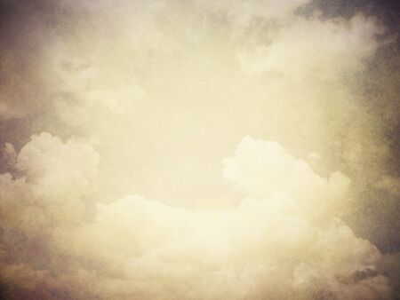 skyscape: retro image of cloudy sky