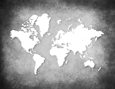 old world: Retro World Map