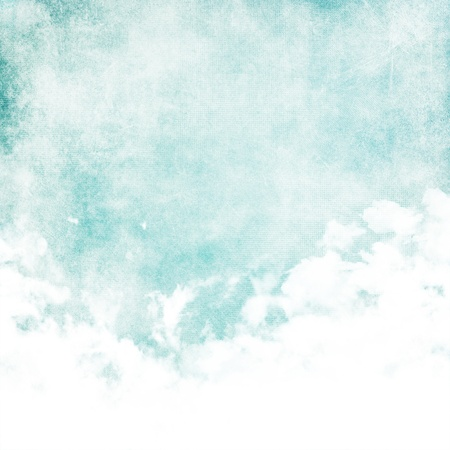 ink in water: Water color like cloud on old paper texture background