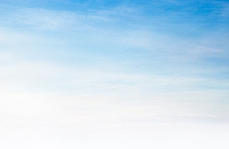 Zachte blauwe hemel