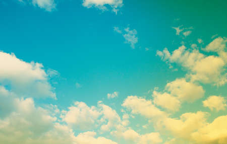 cloud background: beautiful sparse clouds in the blue sky