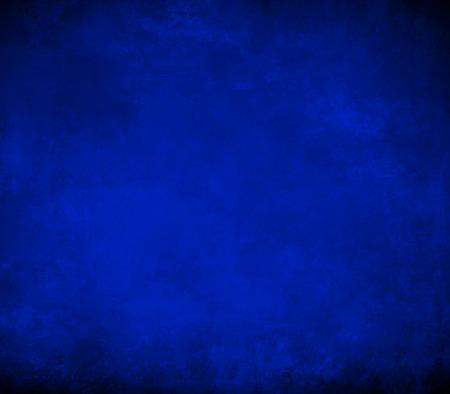 ロイヤル ブルーの背景の黒い境界線、クールな青い色背景本カバー ビンテージ グランジ背景テクスチャ、抽象的なグラデーションの背景、高級黒 写真素材
