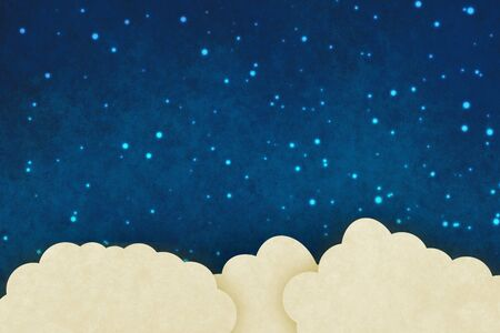 on the sky background: Fantasy sky background