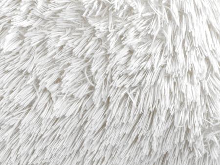 white fur: Fondo blanco de la piel Foto de archivo
