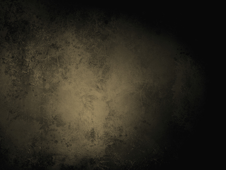 scuffed: gold brown background paper with vintage grunge background texture with black scuffed edges and old faded antique design has copy space for ad brochure or announcement invitation, abstract background