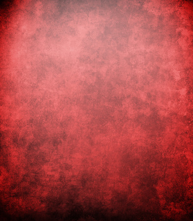 bright center: abstract red background or Christmas background with bright center spotlight and black vignette border frame with vintage grunge background texture red paper layout design colorful graphic art