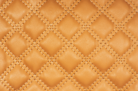 upholstery: Sepia picture of genuine leather upholstery