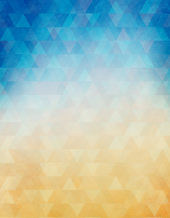 color in: Grunge background in blue and beige color