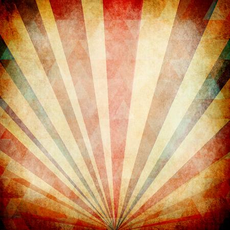 Vintage Zonnestralen Achtergrond