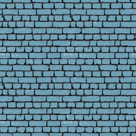 rubble: Brick blue wall. Endless texture web page background. Vector seamless pattern.eps 1 0 Illustration