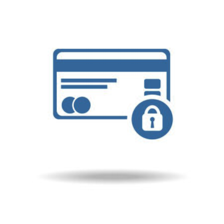 safe payment: Credit Card Security icon.