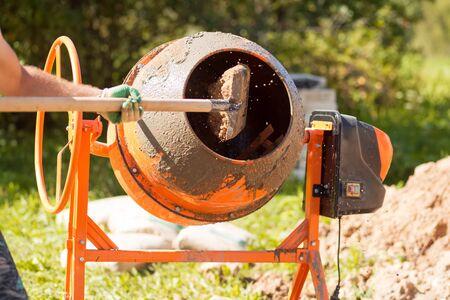 construction concrete mixer