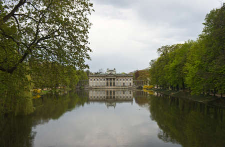 Royal Lazienki Park in Warsaw, Palace on the water