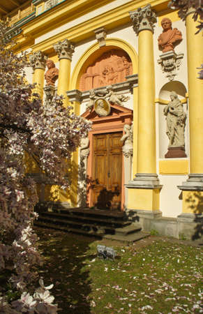 Royal Wilanow Palace Warsaw, Poland.