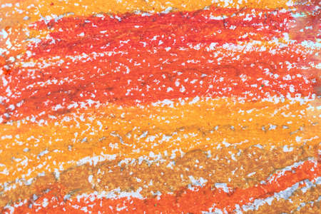 orange grunge textured abstract background. dark and light red pastel painted surface.