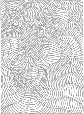 Línea De Página Para Colorear, Arte De Estilo Doodle, Para Niños Y ...