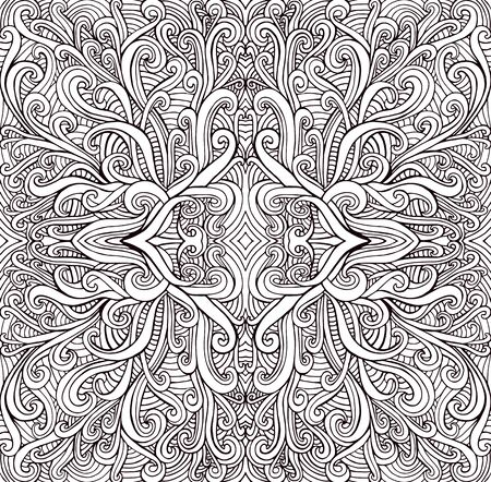 Free Fractal Coloring Pages, Download Free Clip Art, Free Clip Art ... | 442x450