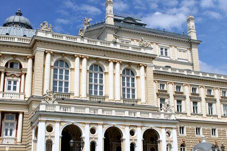 neo classical: Odessa Opera and ballet theatre building, Ukraine Editorial