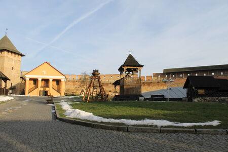 Lubart s castle - the main landmark in Lutsk