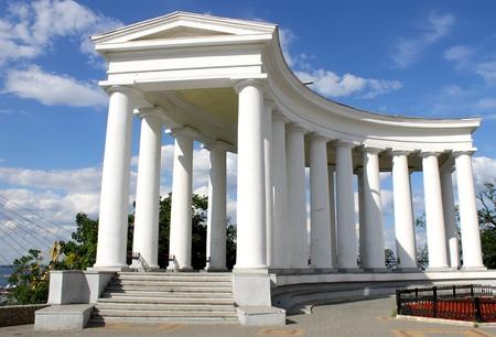 vorontsov: Colonnade at Vorontsov Palace in Odessa  Ukraine