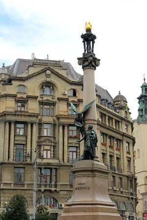 Monument to Adam Mickiewicz in Lviv