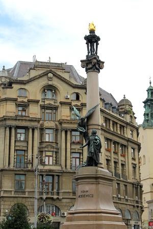 mickiewicz: Monument to Adam Mickiewicz in Lviv