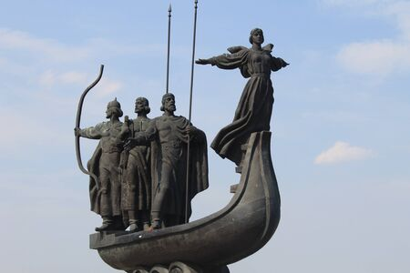 founders: Monument to the founders of Kiev