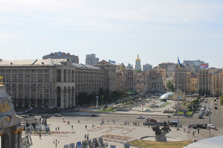 maidan: Independence square in Kiev Editorial