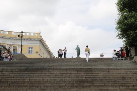 odessa: Potemkin staircase in Odessa