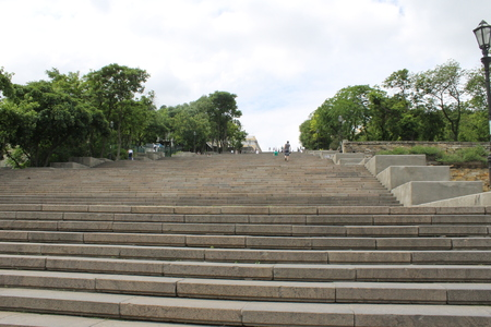 steps and staircases: Potemkin staircase in Odessa