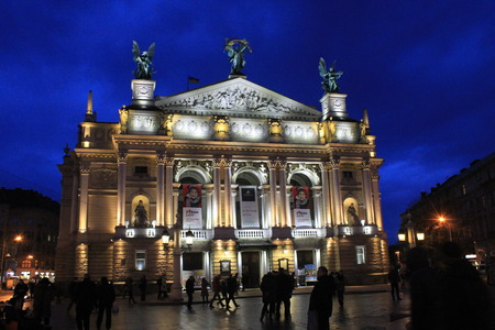 lviv: Lviv Opera House