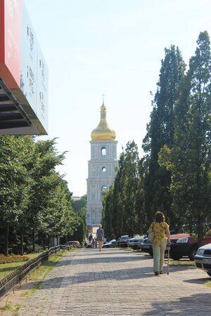 sophia: saint sophia cathedral in kiev Editorial