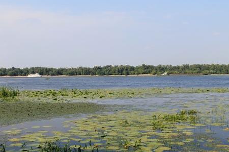 kiev: Dnieper river in Kiev