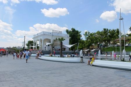 embankment: Embankment in Odessa