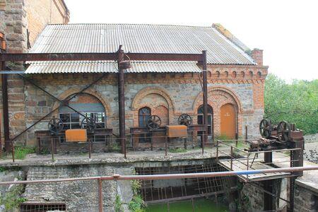 water mill: Old water mill in Migeya village, Ukraine